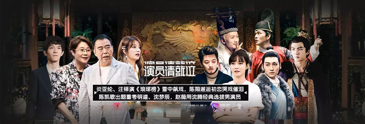 《演员请就位》第5期:炎亚纶演琅琊榜飙泪(2019-11-08)